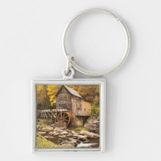 USA, West Virginia, Clifftop. Babcock State 2 Keychain