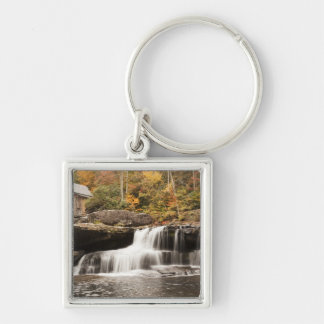 USA, West Virginia, Clifftop. Babcock State Keychain