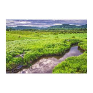 USA, West Virginia, Davis. Landscape 2 Canvas Prints