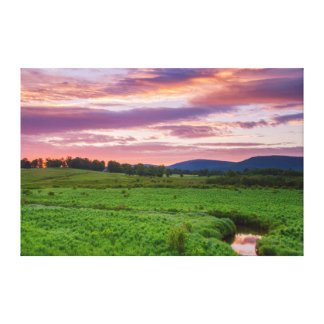 USA, West Virginia, Davis. Landscape Canvas Print