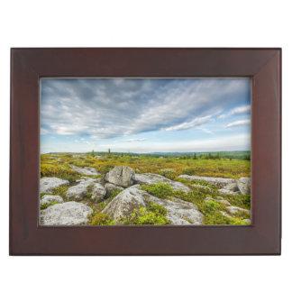 USA, West Virginia, Davis. Landscape In Dolly Memory Box