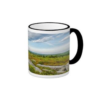 USA, West Virginia, Davis. Landscape In Dolly Coffee Mugs