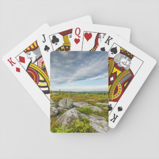 USA, West Virginia, Davis. Landscape In Dolly Poker Cards