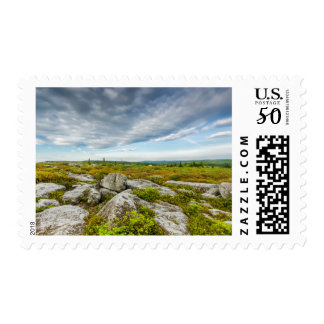 USA, West Virginia, Davis. Landscape In Dolly Postage