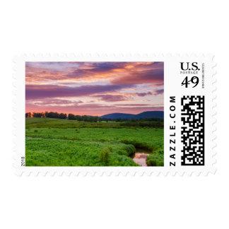 USA, West Virginia, Davis. Landscape Postage