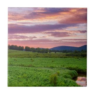 USA, West Virginia, Davis. Landscape Tiles