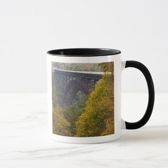 USA, West Virginia, Fayetteville. New River Mug