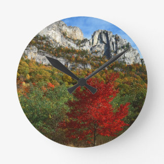 USA, West Virginia, Spruce Knob-Seneca Rocks Round Clock