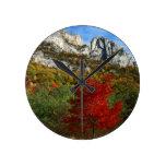USA, West Virginia, Spruce Knob-Seneca Rocks Round Wallclock