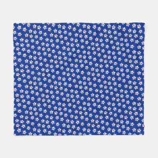 USA Westie Stars KiniArt Fleece Blanket