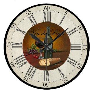 USA Wine Clock