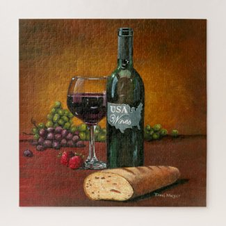 USA Wine Jigsaw Puzzle