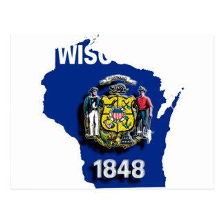 USA Wisconsin Postcard