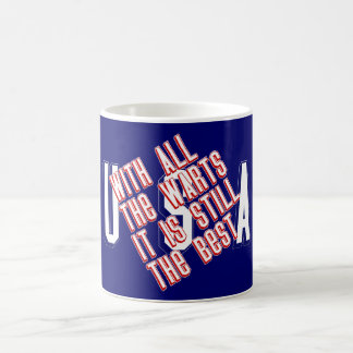 USA - With All The Warts Mug