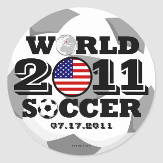 USA Women Soccer 2011 Sticker