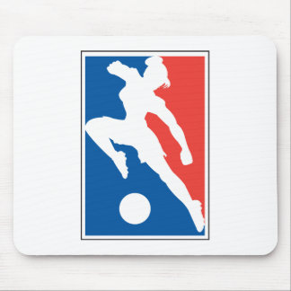 USA womens girls soccer Mouse Pad