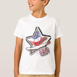 USA Women's Gymnastics T-Shirt