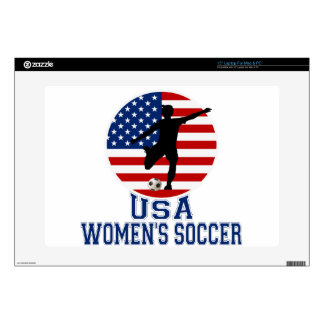 "USA Women's Soccer 15"" Laptop Skin"
