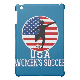 USA Women's Soccer American Flag  iPad Mini Covers