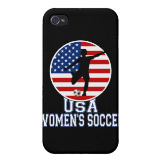 USA Women's Soccer Cases For iPhone 4