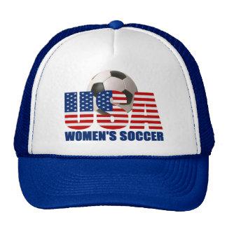 USA Women's Soccer Hat (blue)
