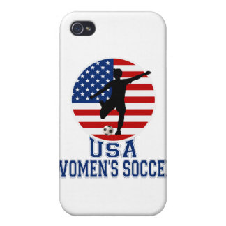 USA Women's Soccer i Case For iPhone 4