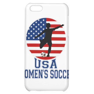 USA Women's Soccer iPhone Case iPhone 5C Cases