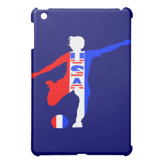 USA Women's Soccer Logo Cover For The iPad Mini