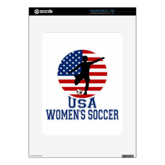 USA Women's Soccer Skin For The iPad