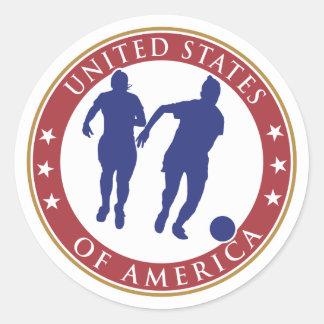 USA Women's Soccer Sticker