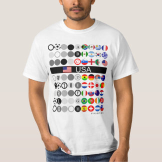 USA World Cup 2010 Group C Indicated T-Shirt