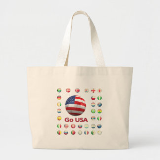 USA  World Cup 2010 South Africa Canvas Bag