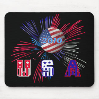 USA world cup soccer 2010 Mousemat Mouse Pad