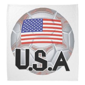 USA World Soccer Bandana