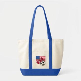 USA World Soccer Fan Tshirts Tote Bag