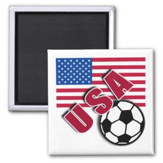 USA World Soccer Fan Tshirts Magnet