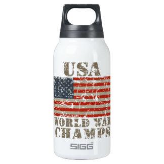 USA, World War Champions Insulated Water Bottle