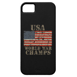 USA, World War Champions iPhone SE/5/5s Case
