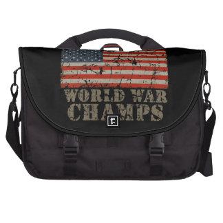 USA World War Champions Laptop Messenger Bag