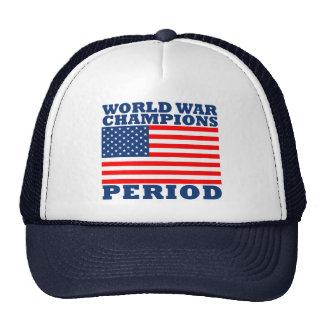 USA World War Champions Period Trucker Hat