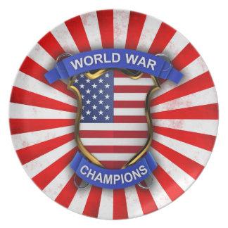 USA World War Champions Plate
