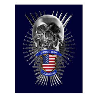 USA World War Champions Post Card