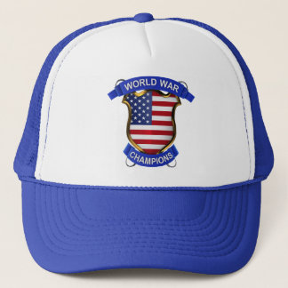USA World War Champions Trucker Hat
