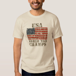 USA, World War Champs T-Shirt
