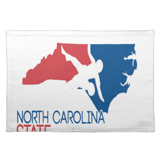 USA Wrestling North Carolina Cloth Placemat