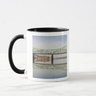USA, WV, Parkersburg. Parkersburg-Belpre Mug