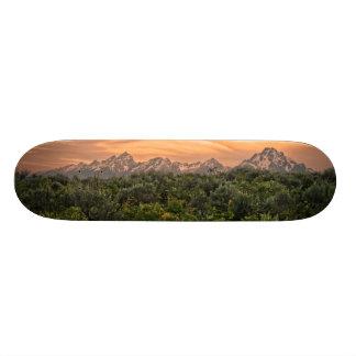 USA, Wyoming, Grand Teton National Park 1 Skateboard