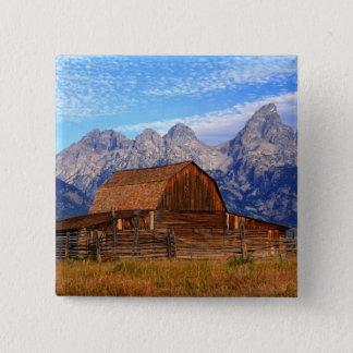 USA, Wyoming, Grand Teton National Park. Button