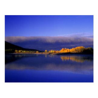 USA, Wyoming, Grand Teton National Park. Fall Postcard