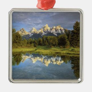 USA, Wyoming, Grand Teton National Park. Grand 2 Metal Ornament